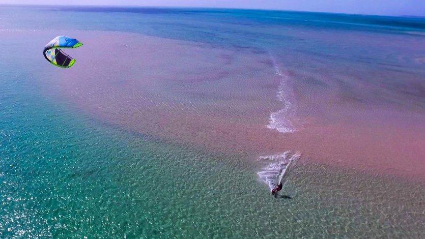 le kitesurf, nouvelle activité proposée par la maison! - © Alizée VALLE