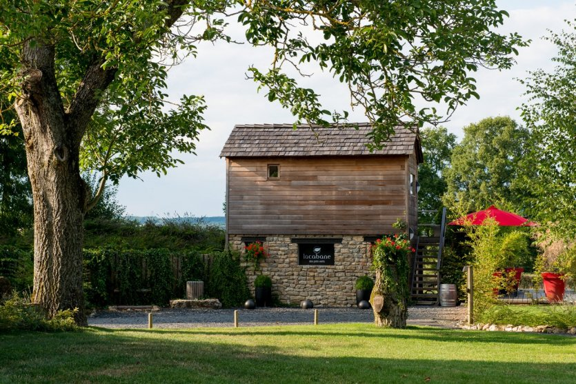 La Cabane des Prés Verts - © Domaine des Prés Verts