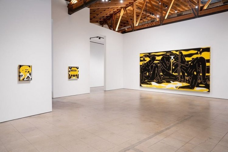 Hysteria - Cleon Peterson - Over the Influence Gallery - © Cleon Peterson