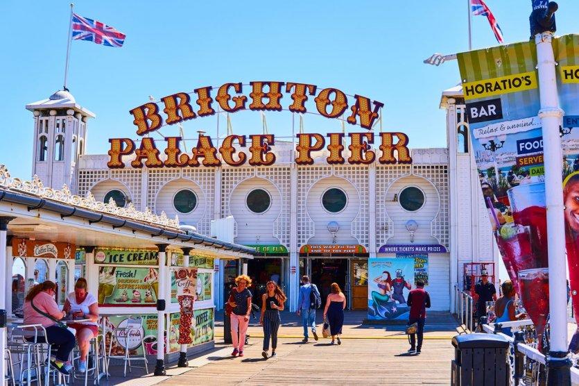 Brighton Palace Pier - © Michaelasbest - Shutterstock.Com