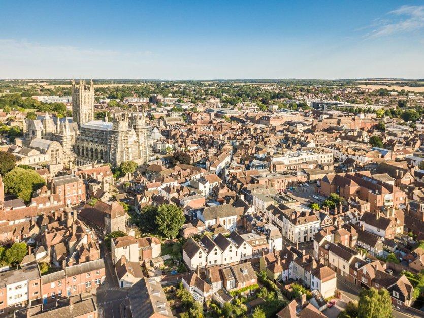 La ville médiéval de Canterbury - © Alexey Fedorenko - Shutterstock.com