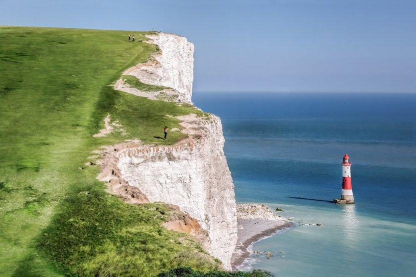 Le phare de Beachy Head, près d'Eastbourne - © Samot - Shutterstock.com