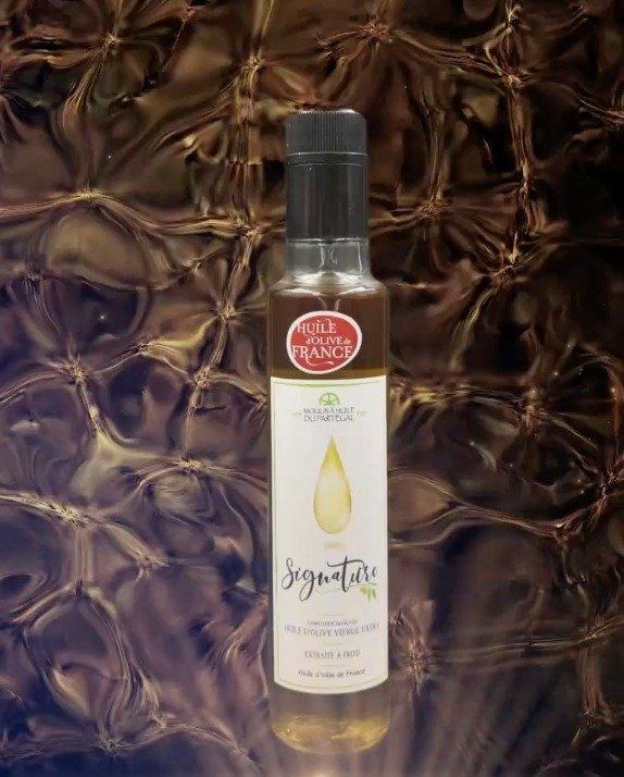 L'huile d'olive Signature numéro 5 récompensée. - © Capture d'écran