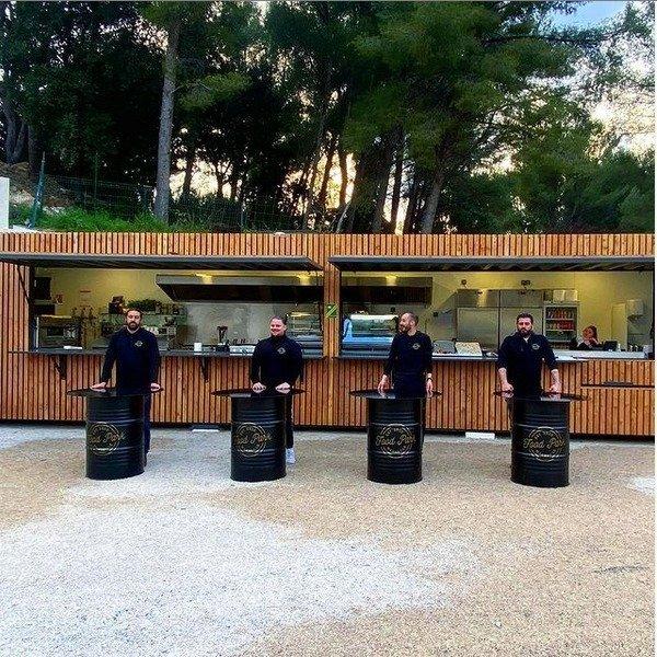 L'équipe du Food Park Marseille vous attend tambour battant ! - © Food Park Marseille