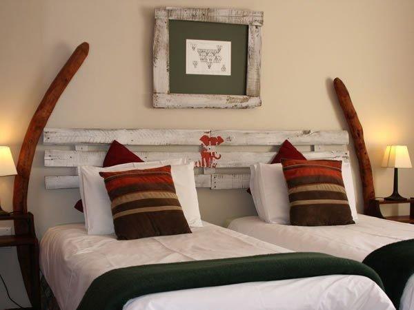 Décoration atypique d'une belle chambre - © Bush pillow