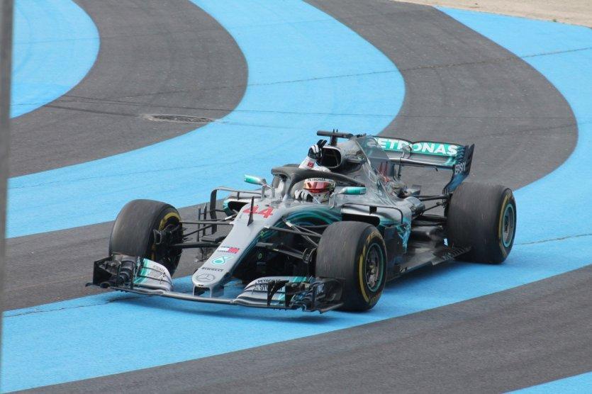 Grand Prix de France - Lewis Hamilton - © Laurent BOSCHERO