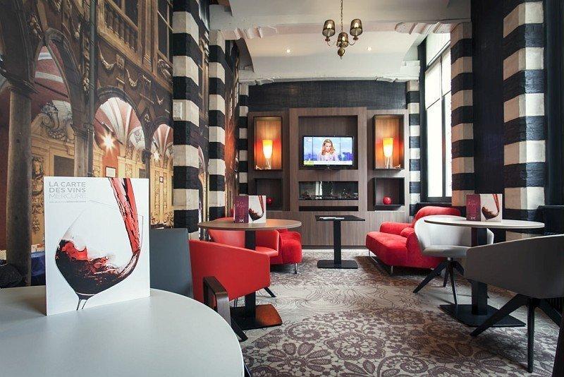Lobby de l'hôtel Mercure Lille Centre Grand-Place - © DR