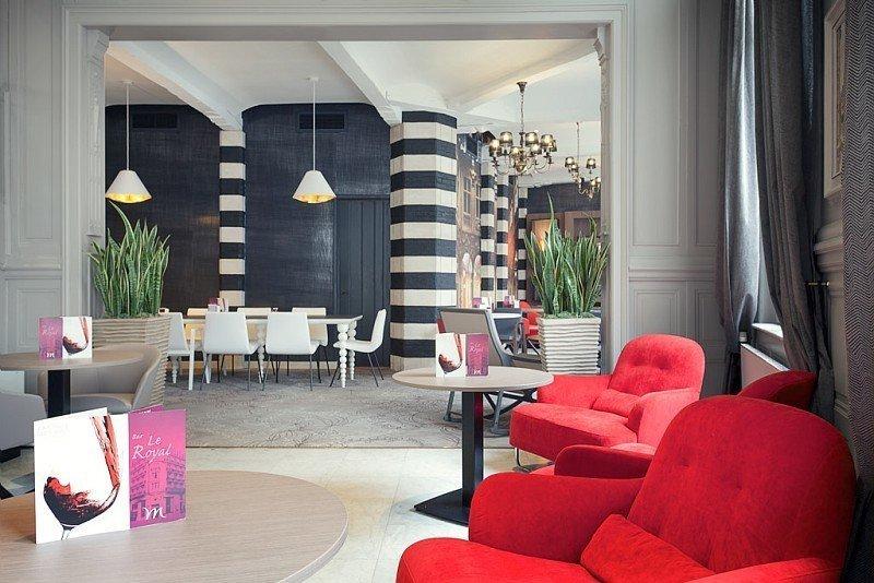 Espace pour se relaxer à l'hôtel Mercure Lille Centre Grand-Place - © DR