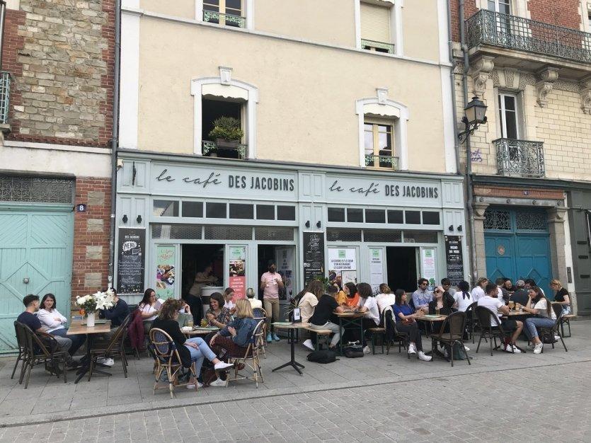 Le Café des Jacobins - © Laëtitia STEIMETZ