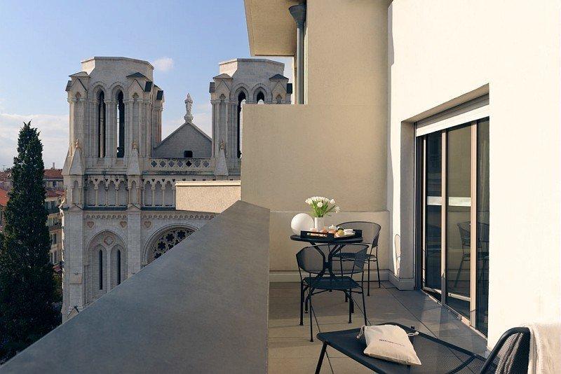 l'hôtel Mercure Nice Centre Notre-Dame est très bien situé - © DR