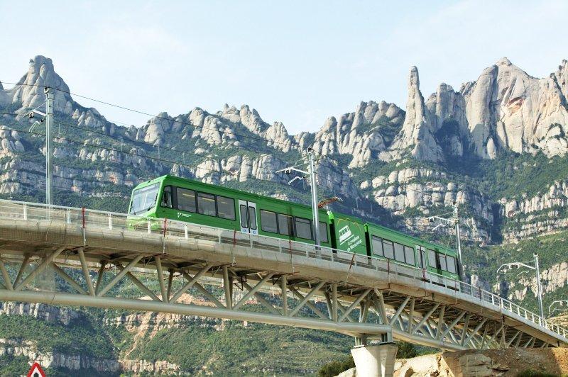 Cremallera de Montserrat - © FGC