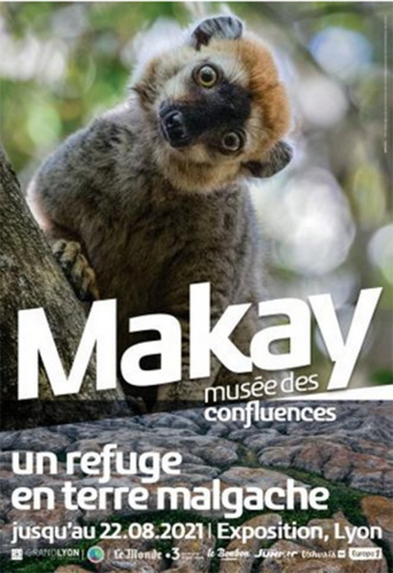 Affiche Makay - © Musée des Confluences