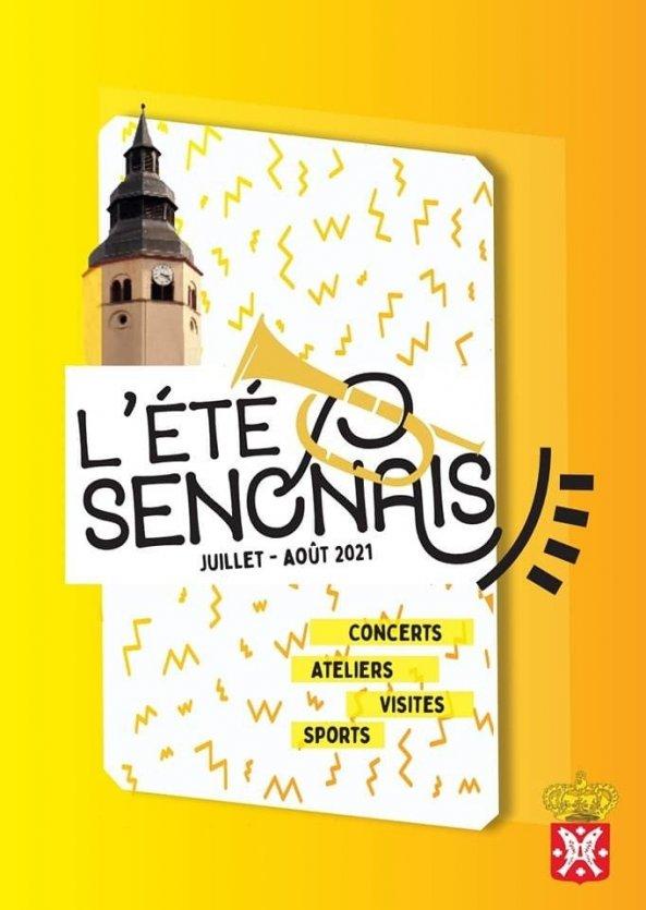 Page de couverture de l'agenda senonais - © Mairie de Senones