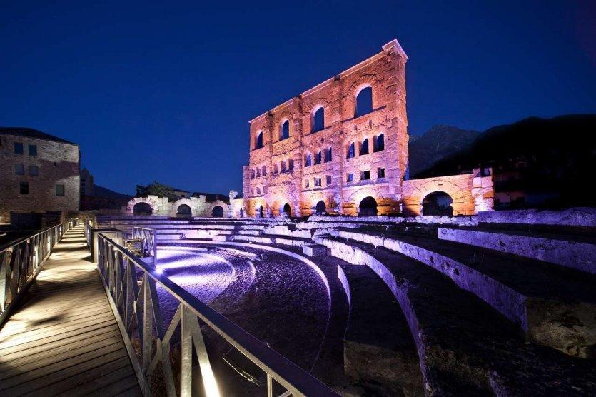 Théâtre romain d'Aoste - © Vallée d'Aoste Tourisme