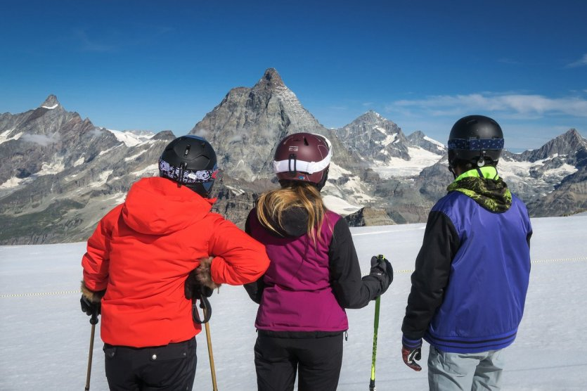 Ski d'été - © Vallée d\'Aoste Tourisme