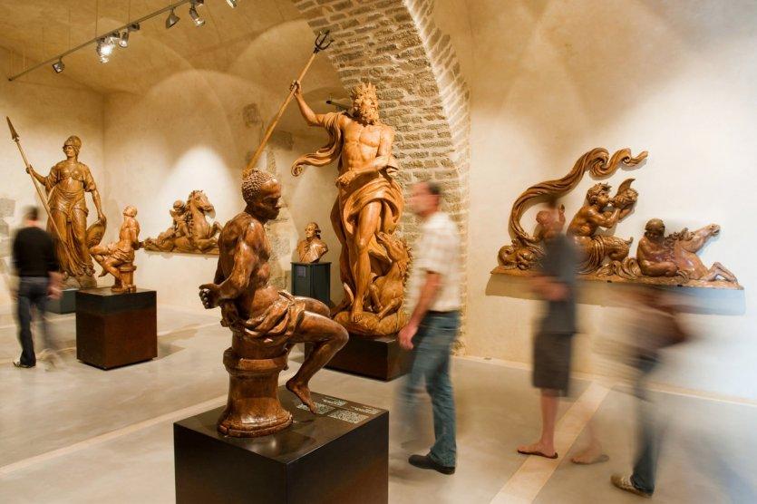 Sculptures navales au musée national de la Marine à Brest - © MnM-Photo Arnaud Fux