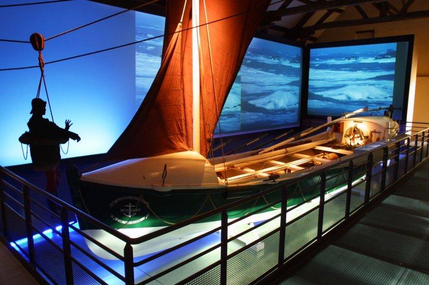 Sauvetage en mer au musée national de la Marine à Port-Louis - © CPAR Benjamin Rupin MnM