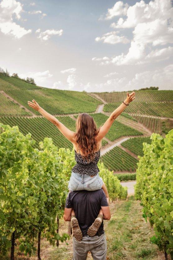 Randonnée dans les vignes - © Visit Moselle Luxembourg_LaLa La Photo