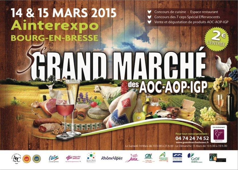 - © Grand Marché des AOC