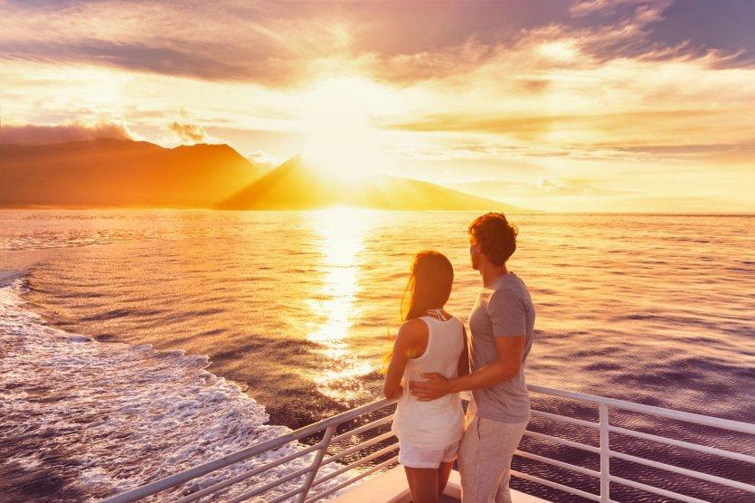 Coucher de soleil à Hawaii - © © Maridav - Shutterstock.com