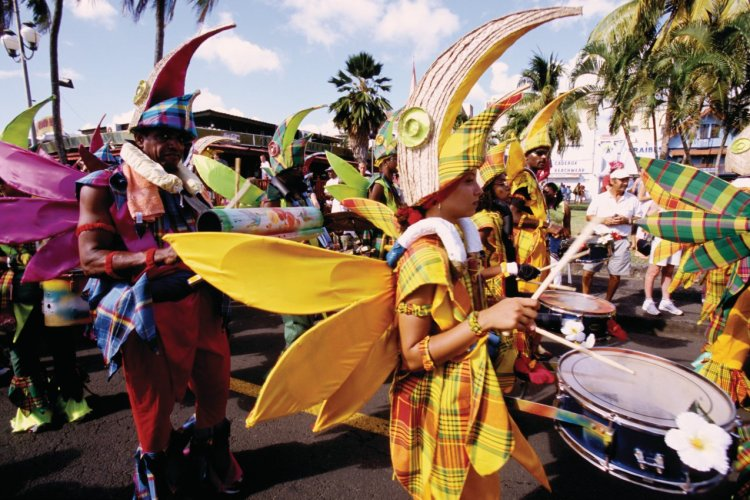 Carnaval à Fort-de-France. - © Vincent FORMICA