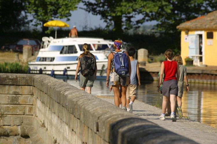 Pont canal de la Cesse - © OT Sud Minervois