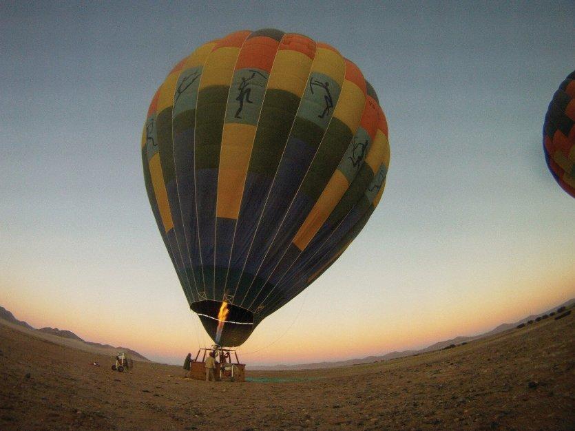 montgolfière sossusvlei - © Camille ESMIEU