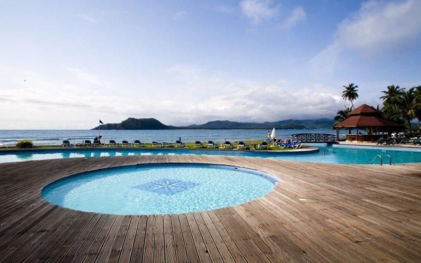 piscine de l'hotel pestana