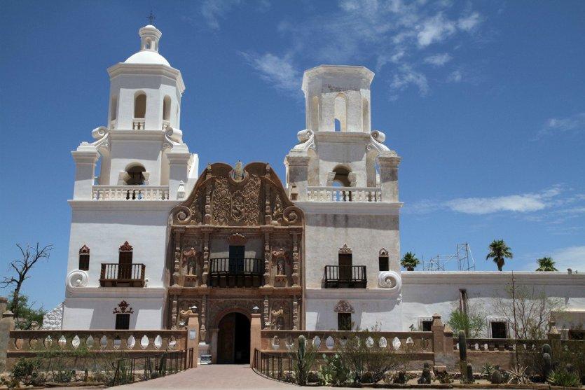 Cathédrale Saint-Augustin de Tucson - © Stéphan SZEREMETA