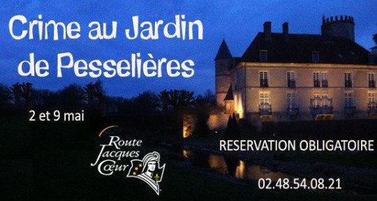 Crime au jardin à Pesselières - © Route Jacques Coeur
