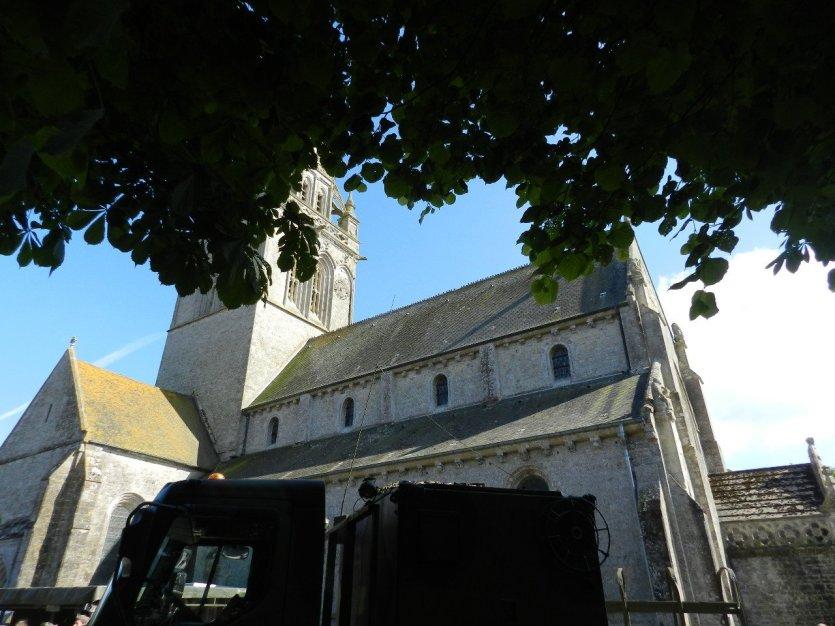 Eglise de Sainte Marie du Mont - © Sylvie LECOULANT