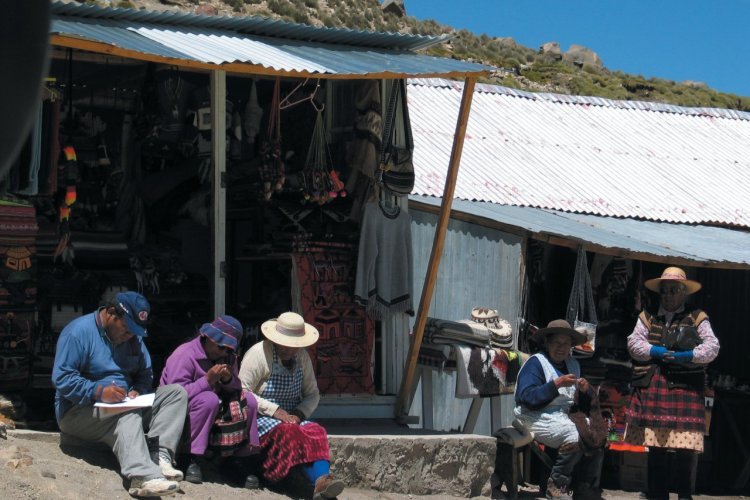 Villageois à Parinacota - © Arnaud BONNEFOY