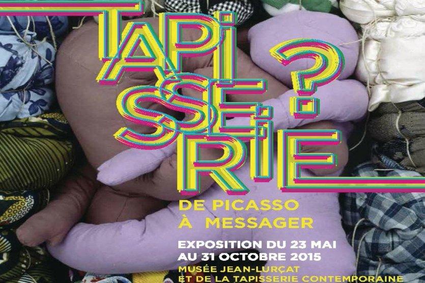 - © Exposition « Tapisserie ? De Picasso à Messager » - Musée Jean-Lurçat et de la Tapisserie contemporaine