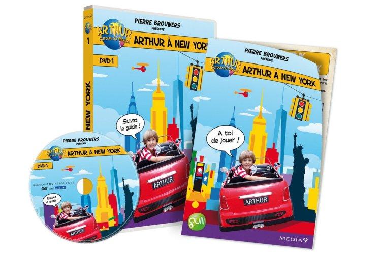 3D DVD+LIVRET - © ARTHUR A NEW YORK