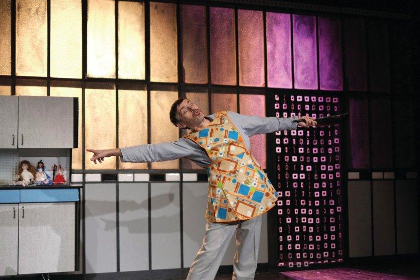 Spectacle Ionesco Feydeau  Mise en scène Olivier Desbordes - © Manuel Peskine