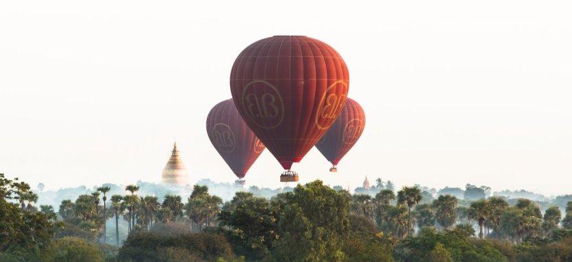 - © Balloons over Bagan