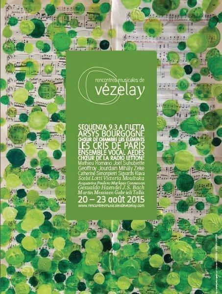 Rencontres musicales vezelay 2018