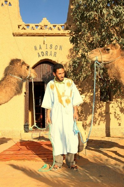 Camel trekking for 1 night Moroccan Sahara desert Erg Chebbi - © Riad Maison Adrar Merzouga