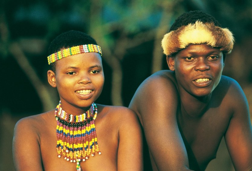 Couple Zulu - © South African Tourism