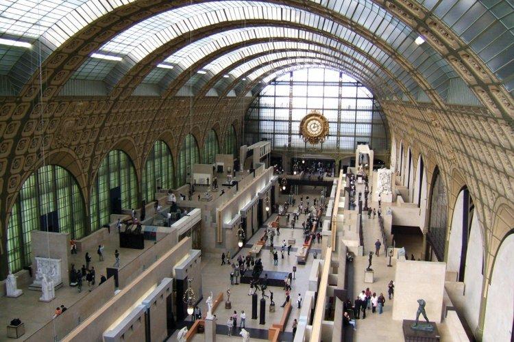 Musée d'Orsay - Galerie principale - Paris - © Stéphan SZEREMETA