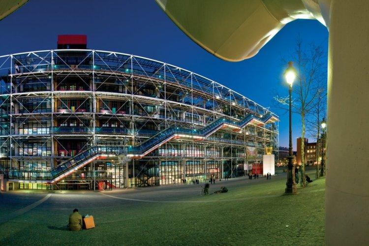 Beaubourg, autrement appelé centre Georges-Pompidou - © Sylvain SONNET