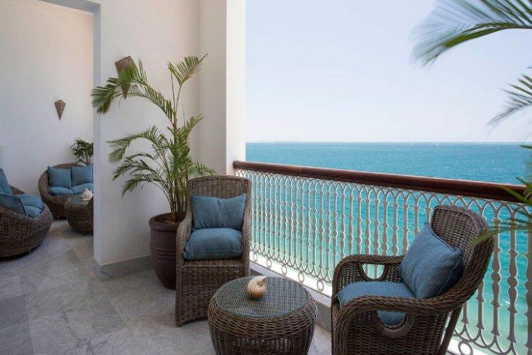 La suite présidentielle Zamani avec son incroyable terrasse et vue sur la mer. - © HYATT HOTEL & RESORT