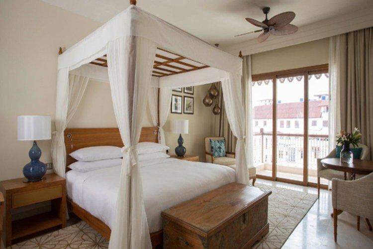 Une des 11 suites que comprend l'hôtel. - © HYATT HOTEL & RESORT