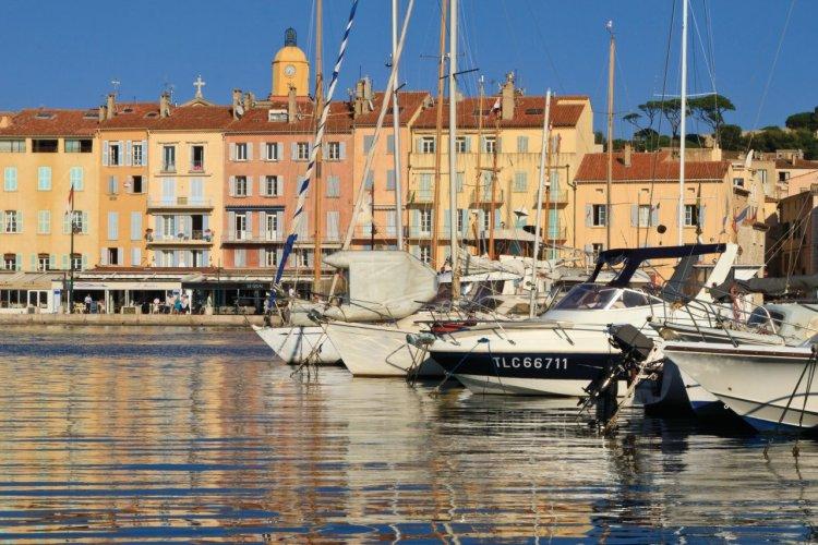Le port de Saint-Tropez - © Lawrence BANAHAN - Author's Image