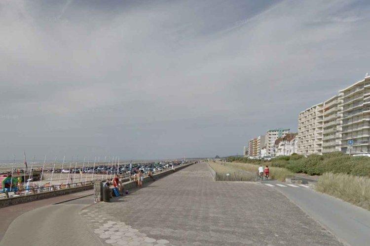 Le front de mer du Touquet rebaptisé « promenade des princes de Monaco ». - © GOOGLE STREET VIEW