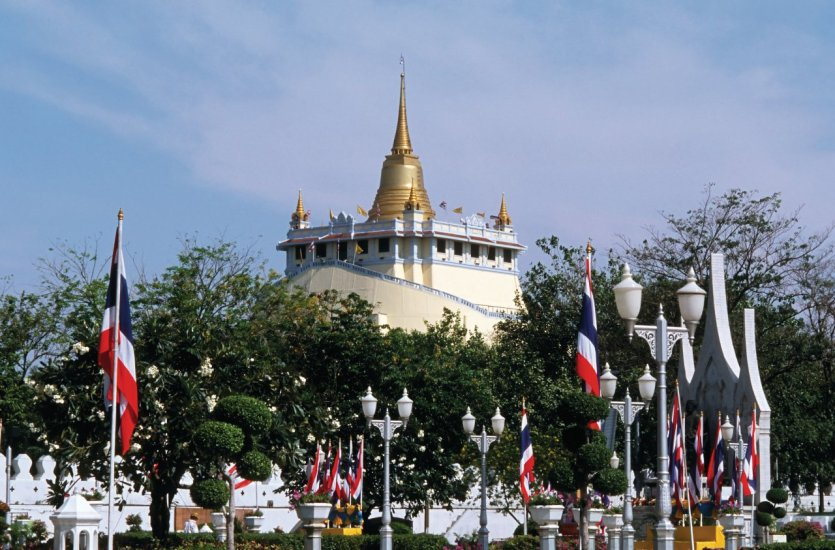 Wat Saket (temple du Mont d'Or).