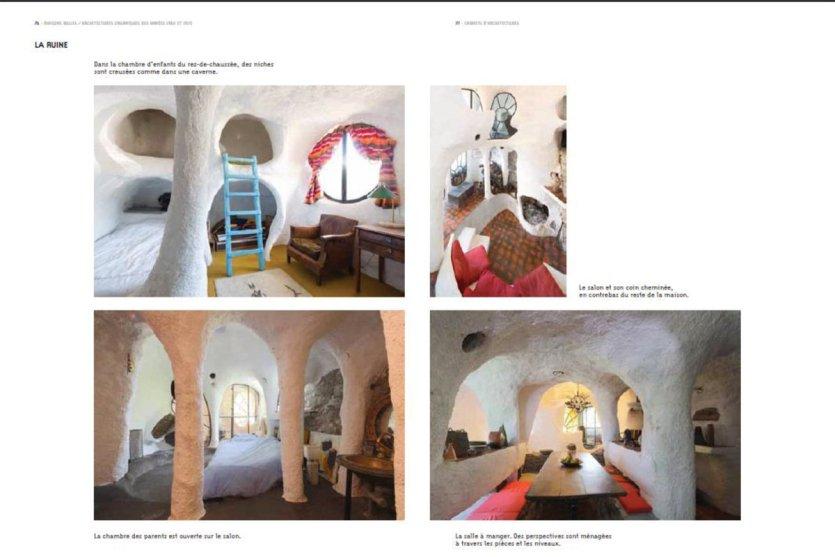 Maisons bulles 50 ans d 39 architectures organiques france for Maisons bulles