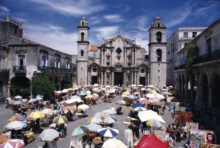 Cathédrale de La Havane.