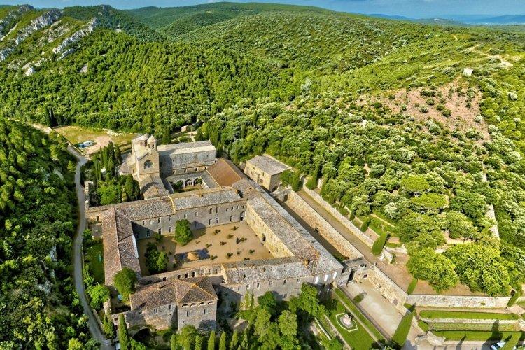 L'abbaye de Fontfroide à Narbonne - © D.R