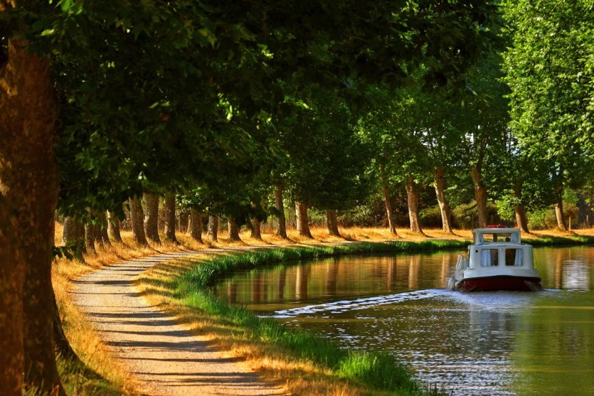 Canal du Midi - © C.G DESCHAMPS